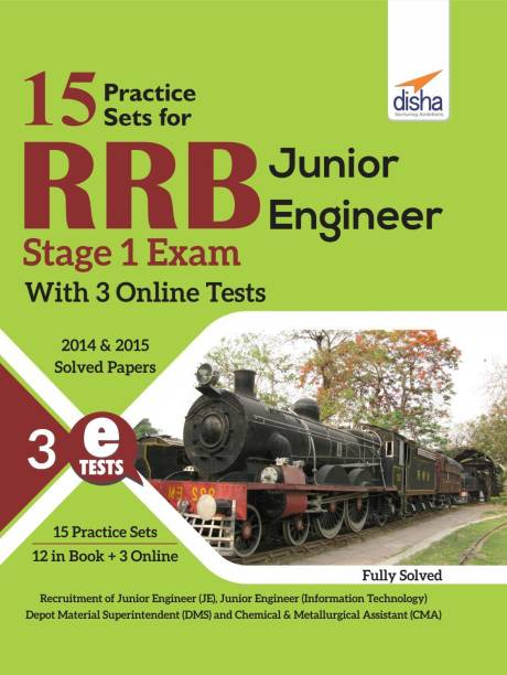 15 Practice Sets for Rrb Junior Engineer Stage 1 Exam with 3 Online Tests