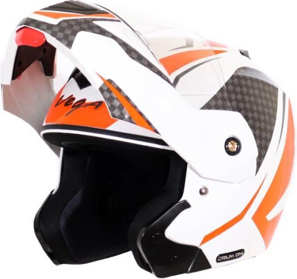 VEGA Crux DX Checks Motorbike Helmet
