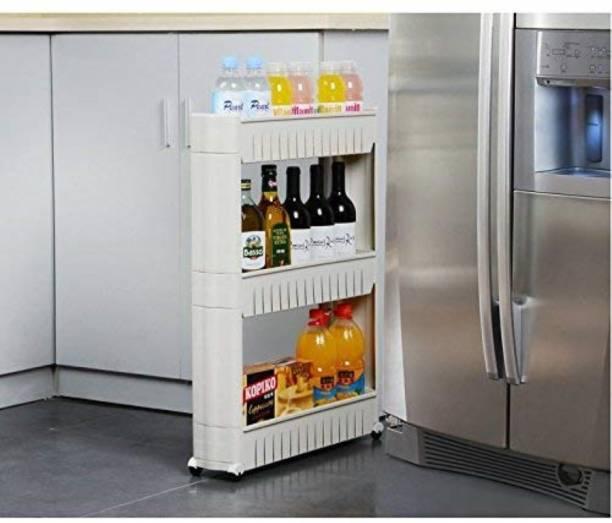 Ebee Plastic Kitchen Trolley