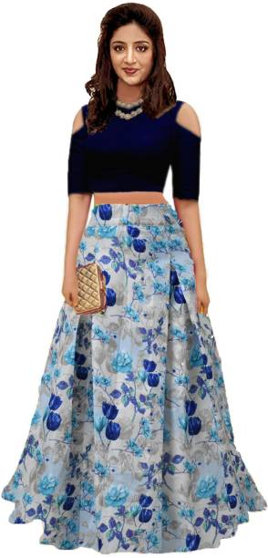 0a7122909485a Crop Top with Lehenga - Buy Crop Top Lehengas online at best prices ...