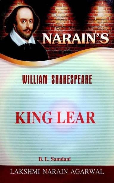 King Lear - William Shakespeare (Text, Critical Study With Hindi)