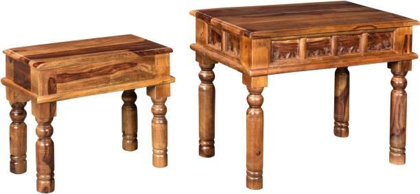 Espice Sheesham Wood Solid Wood Side Table