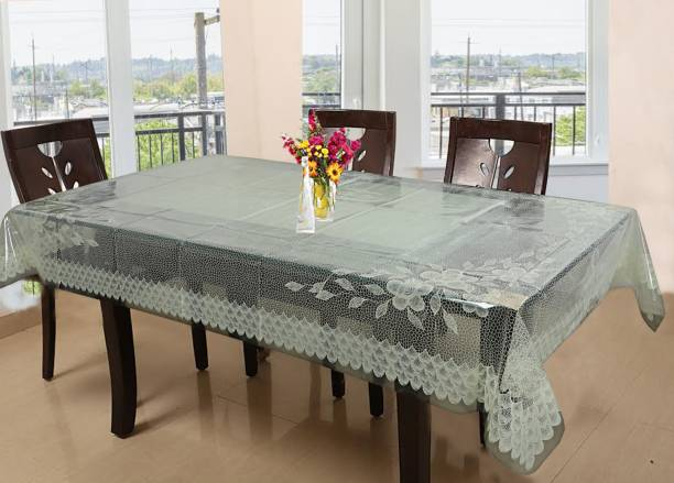 KUBER INDUSTRIES Floral 6 Seater Table Cover