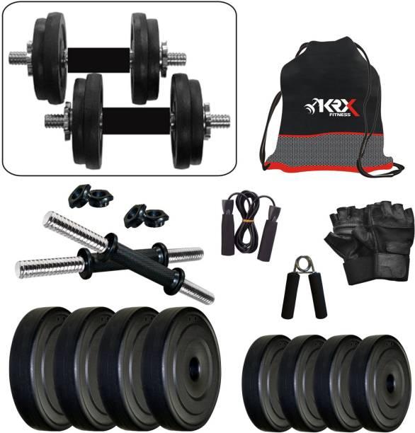 KRX PVC-DM-10KG-COMBO4 Adjustable Dumbbell