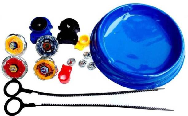 Authfort Beyblade Arena Spinning Top Metal Fight Beyblade Metal Fusion (Multicolor)