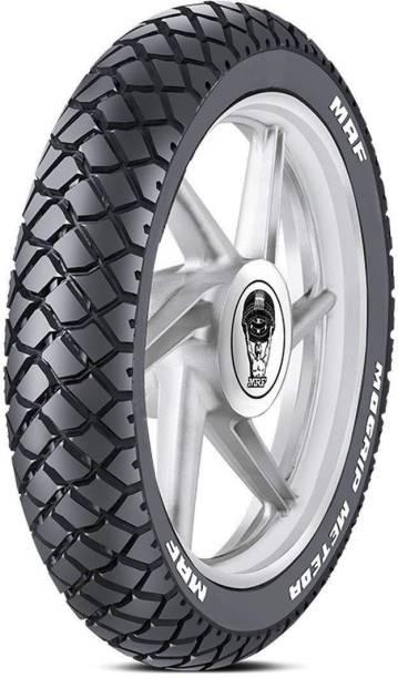 MRF Mogrip Meteor 100/90-17 55P Tubeless Bike Tyre, Rear Rear Tyre