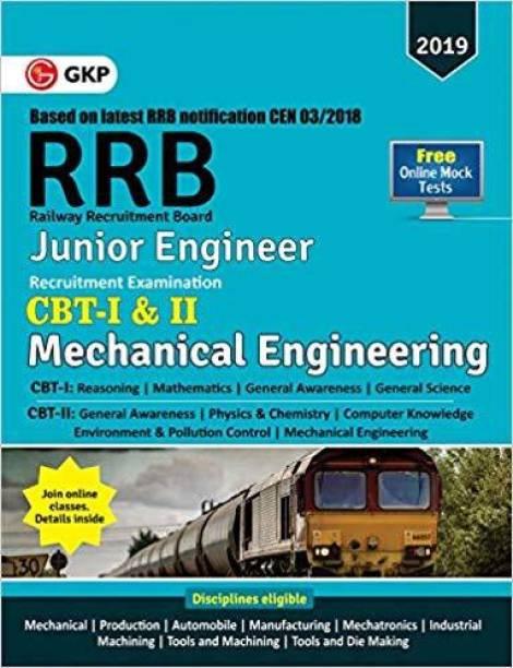 RRB (Railway Recruitment Board) 2019 - Junior Engineer CBT -I & II - Mechanical & Allied Engineering