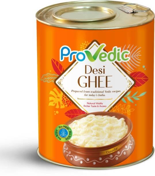 ProVedic Pure Desi Ghee - 5L Tin 5 L Tin