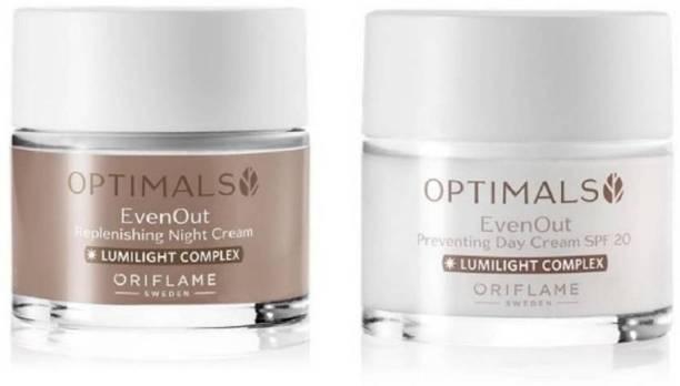 Oriflame OPTIMALS Even Out Day Cream & Night Cream