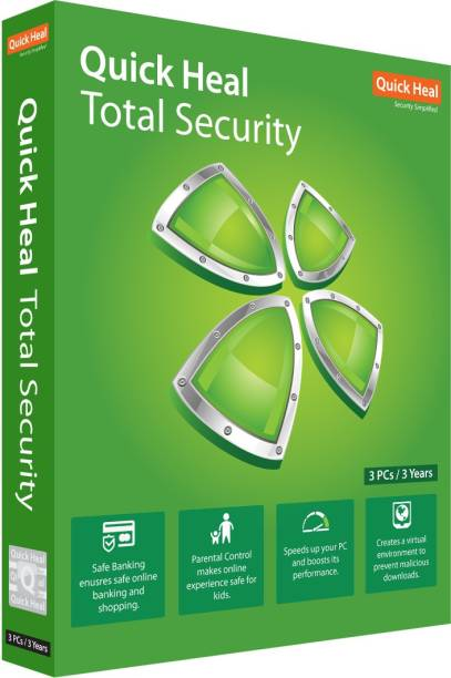 QUICK HEAL Total Security 3.0 User 3 Years