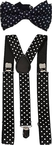 Qtsy Y- Back Suspenders for Men, Women