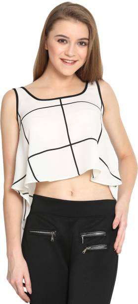 966b6592c672e8 Crop Tops - Buy Crop Tops Online at Best Prices In India