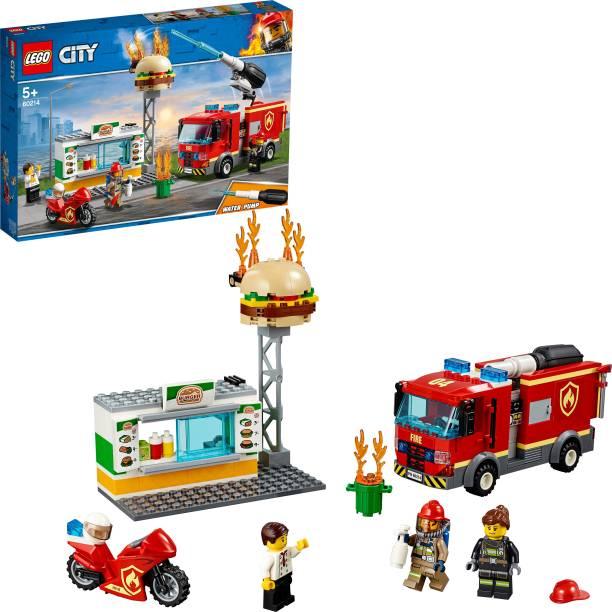 LEGO Burger Bar Fire Rescue (327 Pcs)