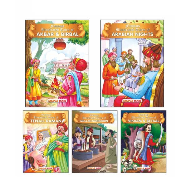 Witty Tales (Illustrated) (Set of 5 Books)