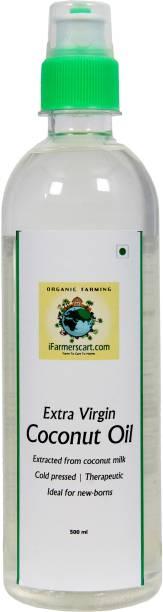 iFarmerscart Premium Virgin Coconut Oil (Extracted from coconut milk) Coconut Oil Plastic Bottle