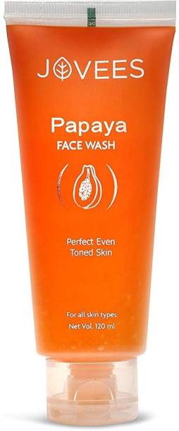 JOVEES Herbals Papaya  For Perfect Even Toned Skin - 120 Ml Face Wash