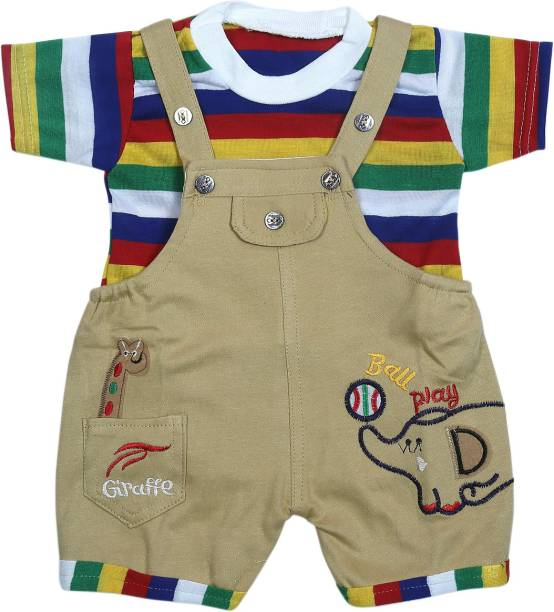 d5801fbcd Baby Jumpsuits - Buy Baby Boys Dungarees   Jumpsuits Online At Best ...
