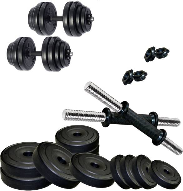 KRX PVC-DM-18KG-COMBO16 Adjustable Dumbbell
