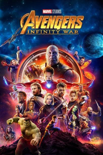 Avengers: Infinity War (2018) , The Avengers (2012) , Avengers Age Of Ultron (2015) , Thor Ragnarok (2017) , Ant-Man and the Wasp (2018) , Jurassic World: Fallen Kingdom (2018) Dual Audio Hindi and English 6 movies pack clear HD print clear voice (it's durn DATA DVD play only in computer or laptop)