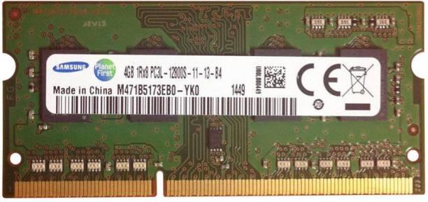 SAMSUNG M471B5173EB0-YK0 DDR3 4 GB (Single Channel) Laptop (4GB DDR3L 1600MHZ M471B5173EB0-YK0)