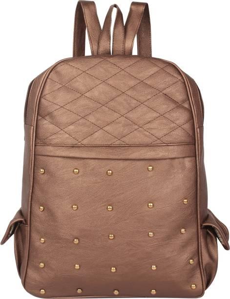 dd43c2a7ad9f Rajni Fashion PU Leather Backpack School Bag Student Backpack Women Travel  bag 6 L Backpack
