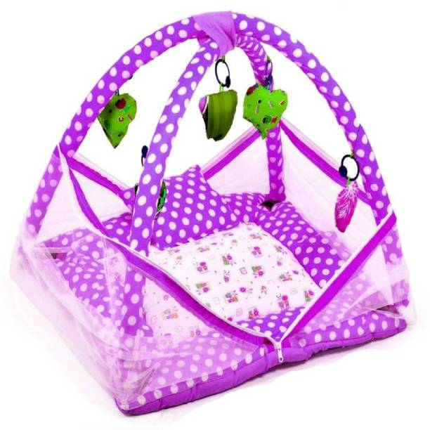 Chote Janab Cotton Infants Bedding Set Mosquito Net