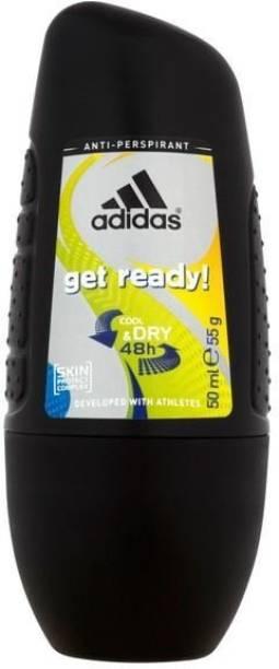 ADIDAS Get Ready Deodorant Roll-on  -  For Men