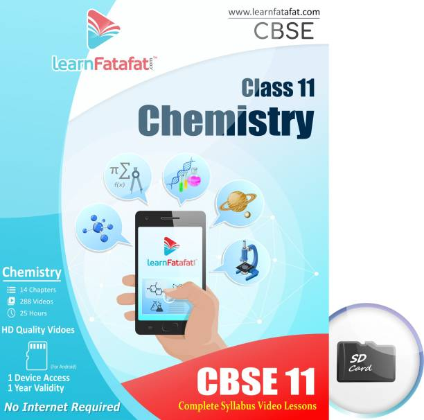 LearnFatafat CBSE 11 Chemistry E learning Video Course SD Card