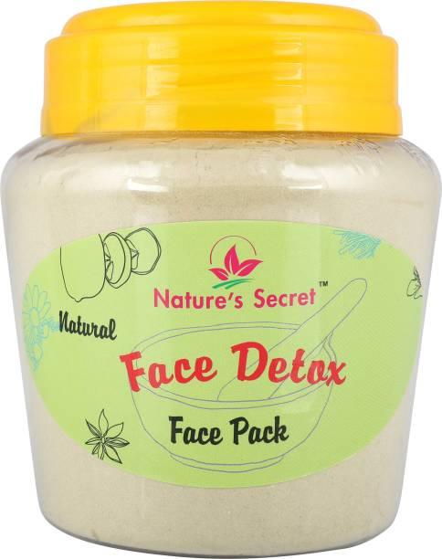 Nature's Secret Face Detox Face Pack