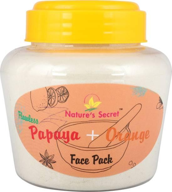Nature's Secret Flawless Papaya & Orange Face Pack
