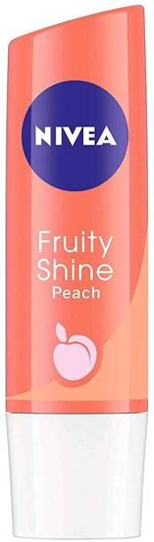 NIVEA Fruity Shine, 4.8g (Peach) Peach
