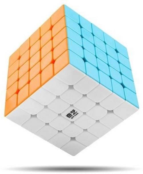 AGAMI QIYI QIZHENG S 5X5 Stickerless High Speed Puzzle Cube