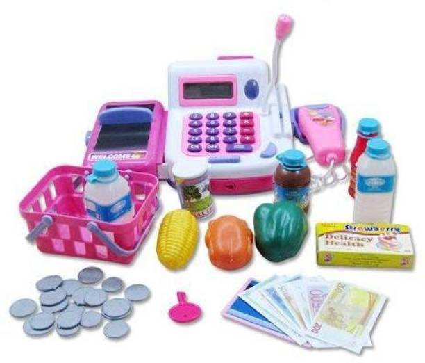 Smartcraft Learning and Educational Cash Register, Electronic Pretend Play cash Register for kids