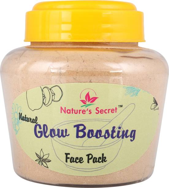 Nature's Secret Glow Boosting Face Pack