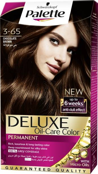 9846d1572f Schwarzkopf Palette Deluxe Intense Oil Care Color 3-65 Chocolate Brown 115  ml Hair Color
