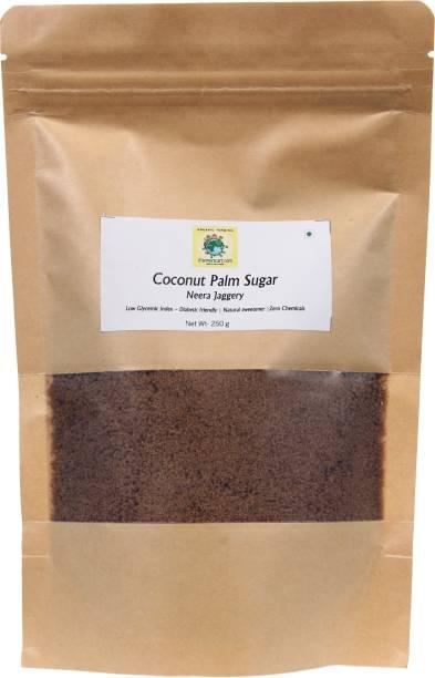 iFarmerscart Coconut Neera Jaggery Powder | Coconut Sugar Crystal Powder Jaggery