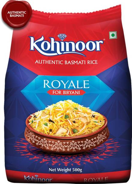 KOHINOOR Royale Authentic Biryani Basmati Rice (Long Grain)