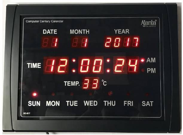 AJANTA Digital 30 cm X 40 cm Wall Clock