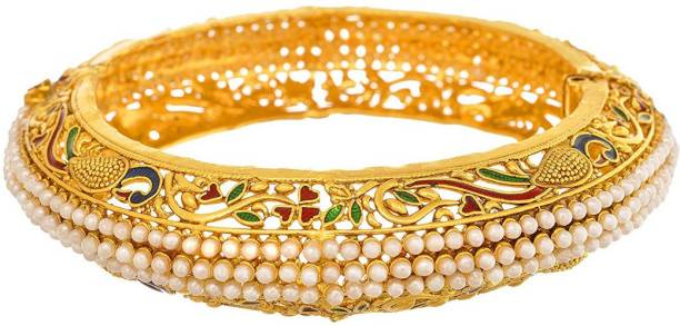 JFL-Jewellery For Less Copper Gold-plated Bangle