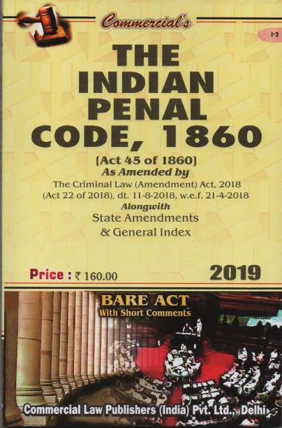 Commercial's The Indian Penal Code,1860