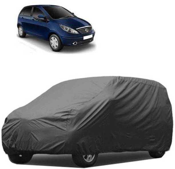 A+ RAIN PROOF Car Cover For Tata Indica Vista (Without Mirror Pockets)