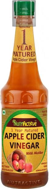 NutrActive Natural Apple Cider Vinegar | 1 Year Matured | Maintain pH balance | Weight Loss Vinegar
