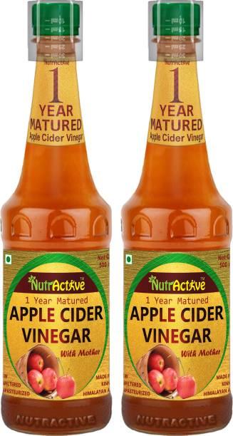 NutrActive Apple Cider Vinegar | 1 Year Matured | Maintain pH balance | Weight Loss Vinegar