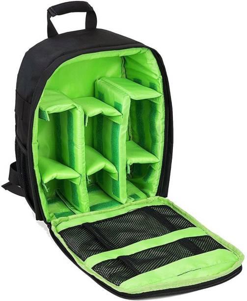 MIRROR Camera Backpack Waterproof DSLR Camera, Lens,Camera Accessories Bag  (Green) Camera 507709979c