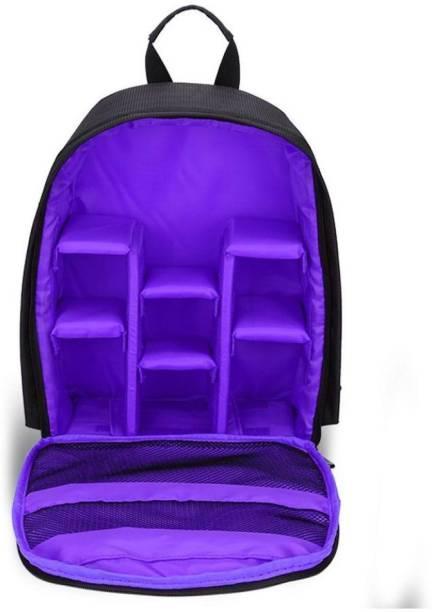 MIRROR Camera Backpack Waterproof, DSLR Camera, Lens,Camera Accessories Camera Bag(Blue)  Camera Bag