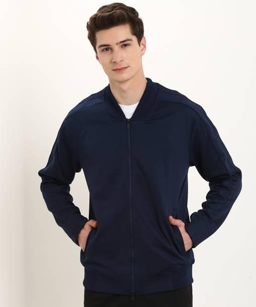 buy online 92b23 c8ead ADIDAS Full Sleeve Solid Men Jacket
