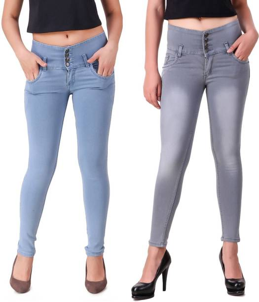 6f692140d36 Ansh Fashion Wear Slim Women Blue