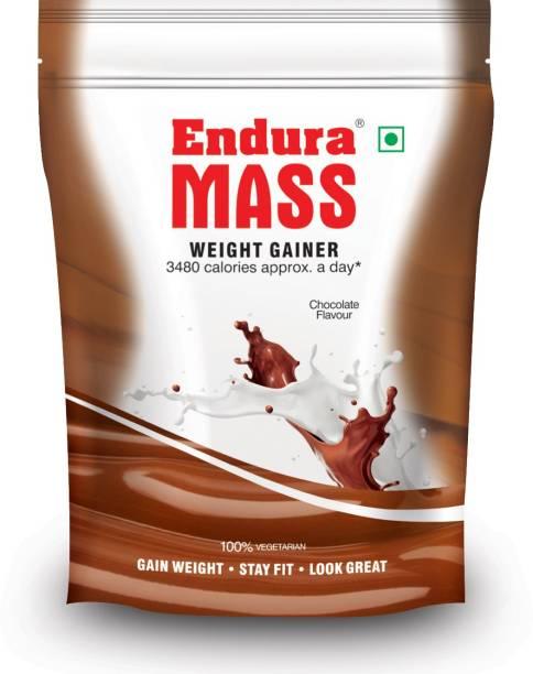 Endura Mass 400 g. Chocolate Weight Gainers/Mass Gainers