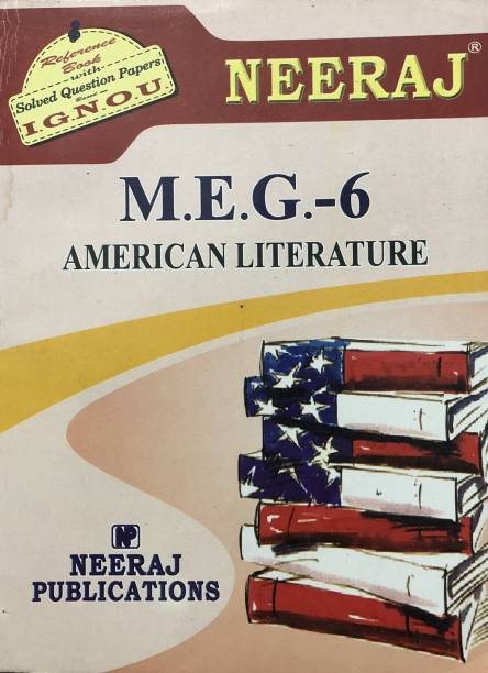 IGNOU MEG-6 AMERICAN LITERATURE For M.A (ENGLISH) Reference Book (Including Solved Question Paper)