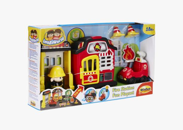 WINFUN Fire 'N Rescue Playset